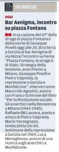 Pagina di Gorizia